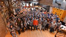 Wattpad employees are seen in this undated handout photo. (HO/THE CANADIAN PRESS)