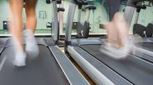 We can get caught up in the treadmill of life and don't look for moments of happiness in our day. (Thinkstock)