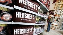 A woman shops inside the Hershey Store in New York June 17, 2008. (Shannon Stapleton/Reuters)