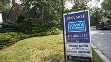 House for sale in Forest Hill neighbourhood, Toronto, Aug. 27, 2013. (Gloria Nieto/The Globe and Mail)