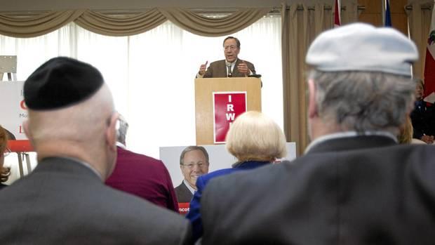 report on politician irwin cotler