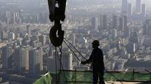 In the first eight months of 2014, steel consumption shrank 0.3 per cent in China. (SHENG LI/REUTERS)