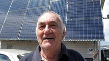 Ed Deibel -- 82-year-old NOHP leader and candidate (Roy MacGregor/The Globe and Mail)
