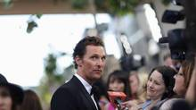 "Matthew McConaughey is interviewed at the premiere of ""Magic Mike"" during the closing night of the Los Angeles Film Festival at the Regal Cinemas in Los Angeles, California June 24, 2012. (Reuters)"