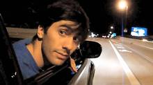 Nev Schulman in a scene from Catfish. (Rogue)