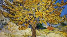 Vincent van Gogh painted The Mulberry Tree in October, 1889. (Alamy)