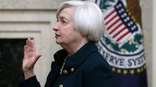 Janet Yellen, the Federal Reserve Board Chair, doesn't want to be called 'chairman.' (Charles Dharapak/AP)