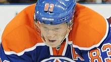 The Edmonton Oilers and Ales Hemsky have agreed to a two-year $10-million contract extension. THE CANADIAN PRESS/John Ulan (John Ulan/CP)