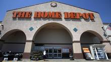 The entrance to a Home Depot store in Monrovia, Calif. (MARIO ANZUONI/REUTERS)