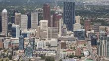 A 2012 aerial photo of Calgary. (Chris Bolin for The Globe and Mail)