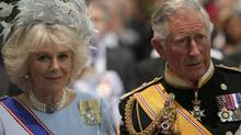 Britain's Prince Charles and his wife Camilla, Duchess of Cornwall. (Pool/Reuters)