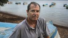 The author Paul Theroux