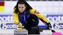 Edmonton skip Heather Nedohin and Team Canada opened the 2013 Scotties Tournament of Hearts with a win in Saturday's opening draw against New Brunswick (file photo). (JONATHAN HAYWARD/THE CANADIAN PRESS)