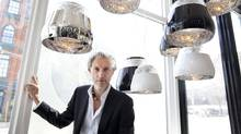Designer Marcel Wanders is known for creating playful and inventive works. (Moe Doiron/The Globe and Mail)