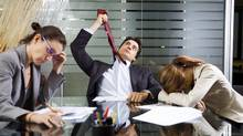 Easing the pressures on middle managers (iStockPhoto/iStockPhoto)