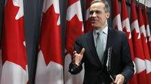Bank of Canada Governor Mark Carney has repeatedly warned that too many Canadians could find themselves in trouble if they were to lose their jobs or incur a big, unexpected expense. (Chris Wattie/Reuters/Chris Wattie/Reuters)