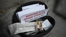 A Naloxone kit can be used in opiate overdoses if someone is there to administer the injection. (Fred Lum/The Globe and Mail)