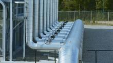 A TransCanada natural gas compressor station. (TransCanada)