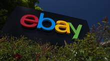 First-quarter profit at eBay Inc. was $829-million, or 63 cents a share, the e-commerce company reported on Wednesday, April 17, 2013. (David Paul Morris/Bloomberg)