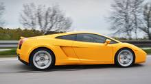 Luxury car rallies feature vehicles, such as Lamborghinis. (istockphoto/Getty Images)