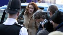 Former News International chief executive Rebekah Brooks is one of eight defendants in the News of the World trial. (NEIL HALL/REUTERS)