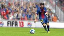 FIFA 13 is a further step toward that perhaps unachievable replication of reality – EA Canada has been cranking out nearly perfect entries in the franchise every year for at least the past three years (Electronic Arts)