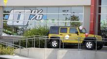 Promotional signage at Erin Mills Auto Super Centre in Toronto, August 21/08. (Tibor Kolley/The Globe and Mail)