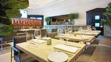The Tudor House restaurant in Dream South Beach hotel, Miami. (David E. Durbak)