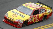 Kevin Harvick drives the number 29 Shell/Pennzoil Chevrolet during practice for the NASCAR Sprint Cup Series Coke Zero 400 at Daytona International Speedway on July 1, 2010 in Daytona Beach, Florida. (Todd Warshaw/Todd Warshaw/Getty Images for NASCAR)