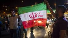 Iranians celebrate on the streets following a nuclear deal with major powers, in Tehran July 14, 2015. A new poll suggests Iranian public support for the pact reflects misunderstandings about the potential lifting of economic sanctions. (TIMA/REUTERS)
