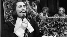 "Actor Brian Bedford is shown in this 1975 handout image from the play ""Twelfth Night"" provide by the Stratford Shakespeare Festival. (Robert C Ragsdale/THE CANADIAN PRESS)"