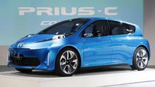 The Toyota Prius-C concept car (Mark Blinch/Reuters)