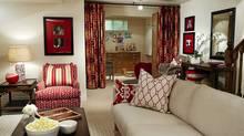 Sarah Richardson's basement redesign (Stacey Brandford photography)
