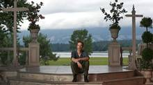 Jonathan Young will play Hamlet on the stage at Bard on the Beach, Vancouver's Shakespeare festival. (Jeff Vinnick/The Globe and Mail)