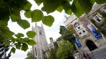 The University of Toronto campus. (Kevin Van Paassen/The Globe and Mail)