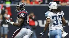 Long-time Houston Texans wide receiver Andre Johnson has announced his retirement from the NFL. (David J. Phillip/AP)