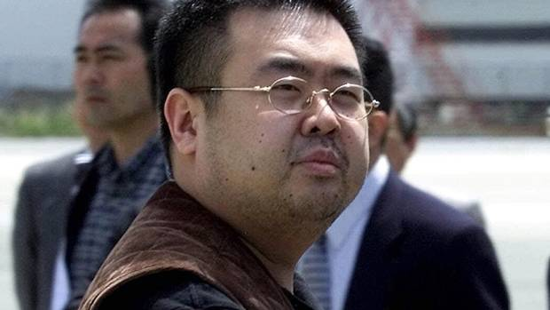 A man believed to be Kim Jong-nam is pictured in this May 4, 2001 file photo.