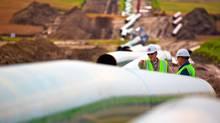 TransCanada's Keystone pipeline.