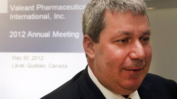 1. Michael Pearson, Valeant Pharmaceuticals International Inc.: $36,318,841 (Ryan Remiorz/THE CANADIAN PRESS)