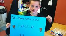 The youngest victim of the Boston Marathon bombings was Martin Richard, who was killed by the blasts while his mother and six-year-old sister were gravely injured. (Facebook)
