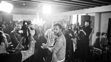 George Stroumboulopoulos recently began inviting friends over to his house to enjoy live musical performances, including the Cult, that appear on his 11-year-running Sunday-night radio gig on CBC 2, The Strombo Show. (photos by Vanessa Heins)
