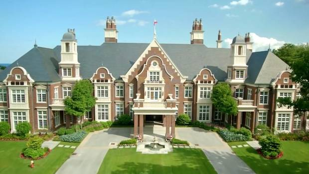Video for sale in oakville a 65 million mansion the for House with home theater for sale