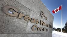 Great-West Lifeco world headquarters is pictured in Winnipeg, Tuesday, February 19, 2013. (JOHN WOODS/THE CANADIAN PRESS)