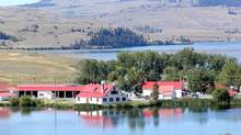 The Douglas Lake Ranch in southern British Columbia is shown in this Aug.16, 2002 file photo. (S.Paul Varga/The Canadian Press/S.Paul Varga/The Canadian Press)
