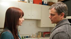 Bryce Dallas Howard and Matt Damon are shown in a scene from director Clint Eastwood's film Hereafter.
