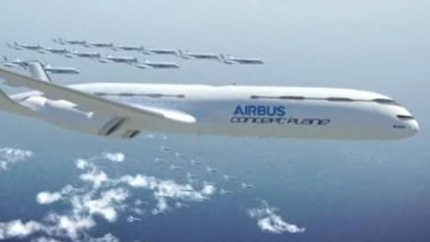 No. 10 - Passenger aircraft flying in formation like birds are likely to be a feature of aviation in the second half of this century, according to plans revealed by aviation giant Airbus Watch video (Reuters video)