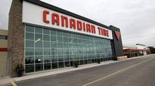 The Canadian Tire store in Bowmanville, Ontario. In addition to the substantial size of the store, redesigned features of the automotive department include hands on touch screen product demonstrations, a designated drive-in oil change garage, lounge service centre waiting area with wifi, and a car audio booth. (Michelle Siu For The Globe and Mail/Michelle Siu For The Globe and Mail)