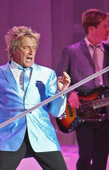 GOOD WEEK Rod Stewart, the aging Scottish crooner, burst into tears on Wednesday when his beloved Celtic pulled off a shock 2-1 Champions League win over Barcelona, a team many have anointed as one of the best of all time. (Eric S. Swist/The Associated Press)