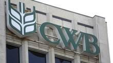 The Canadian Wheat Board building is shown in Winnipeg. (Trevor Hagan/THE CANADIAN PRESS)