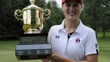 2014 Canadian Women's Amateur Champion Augusta James (Graig Abel/Golf Canada)